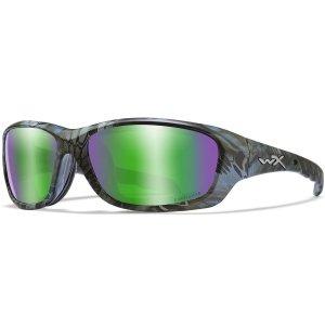 Wiley X Okulary WX GRAVITY CAPTIVATE Green Mirror Amber CCGRA12