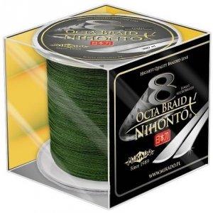 Mikado Plecionka NIHONTO OCTA BRAID 0,23mm Green