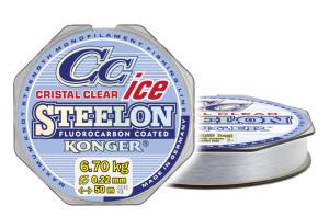 Konger Żyłka podlodowa STEELON ICE CRISTAL 0,12mm 50m
