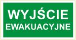 Znak Wyjście Ewakuacyjne 150x300