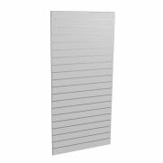 Panel sklepowy SZARY (pionowy) ze wsuwkami aluminiowymi 90 x 200 cm F10