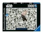 Star Wars - Puzzle 1000 el. Darth Vader & Stormtroopers  Challenge
