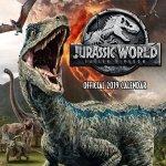 Jurassic World - Kalendarz ścienny 2019