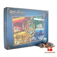 Harry Potter - Puzzle domy Hogwart