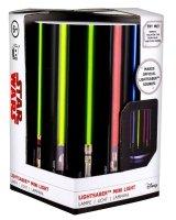 Star Wars - Mini lampka miecze świetlne z dźwiękiem