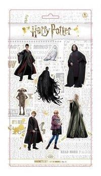 Harry Potter - Magnesy 8 szt. zestaw A