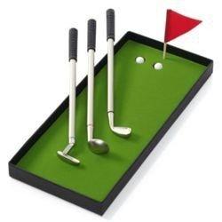 Długopisy golfisty deluxe - elegancki zestaw