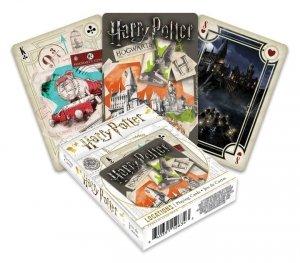 Harry Potter - Karty do gry miejsca