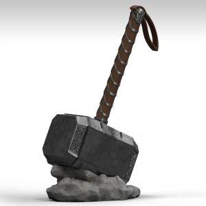 Marvel - Skarbonka Thor Mjolnir 28 cm