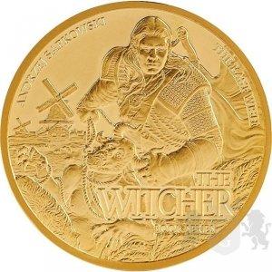 50$ złota moneta kolekcjonerska Ostatnie życzenie - Wiedźmin