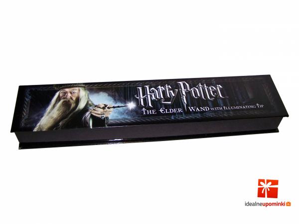 świecąca różdżka albus dumbledore