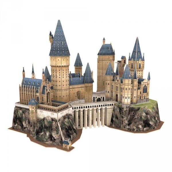 hogwart zamek puzzle 3d