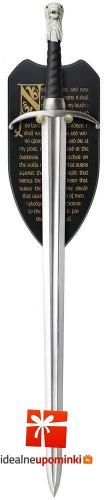 Gra o Tron - miecz Długi Pazur Jon Snow 114 cm replika 1:1
