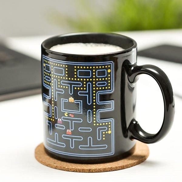 Kubek retro game arcade PAC-MAN - magiczny