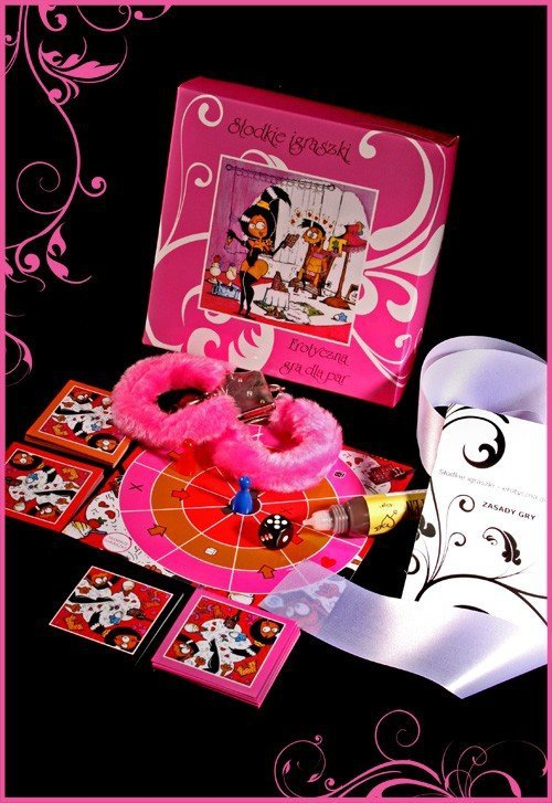 Erotyczna gra - słodkie igraszki