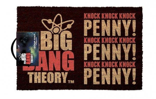 The Big Bang Theory - Wycieraczka knock knock knock Penny Teoria Wielkiego Podrywu