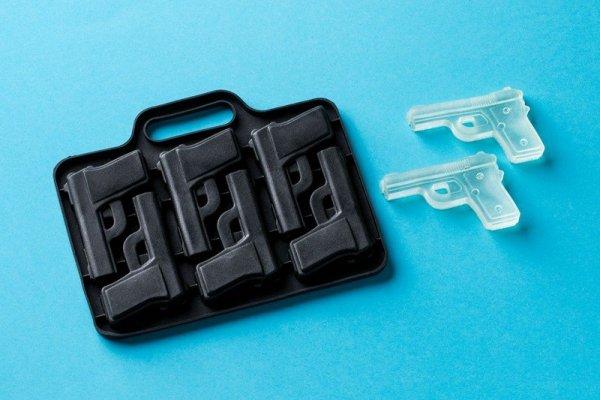 Silikonowa forma lodowa - pistolet