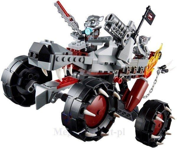 Wilczy pojazd - LEGO Chima - LEGO 70004