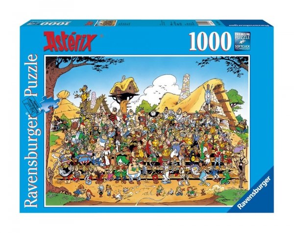 Asterix i Obelix - Puzzle 1000 el. Zdjęcie rodzinne Ravensburger