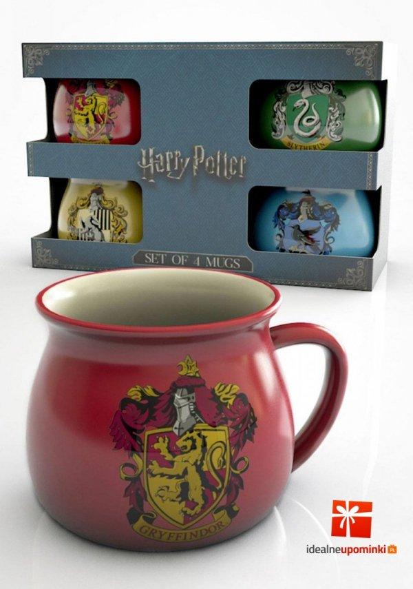 Harry Potter - Filiżanki zestaw 4 szt.