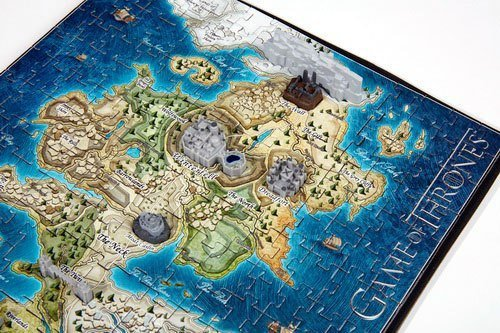 Gra o Tron - Puzzle Mini Westeros 3D 350 el.