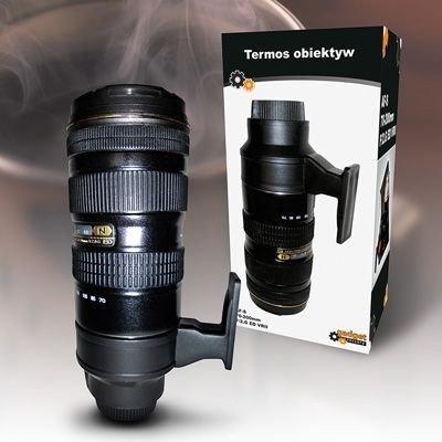 Termos obiektyw - prezent dla fotografa