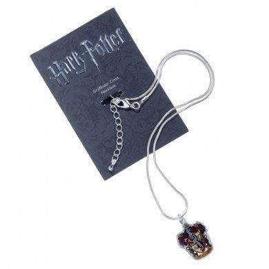 Naszyjnik z wisiorkiem Gryffindor - Harry Potter (posrebrzany)