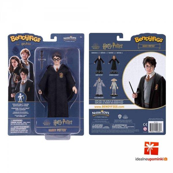 Harry Potter - Figurka Harry Potter 19 cm Bendyfigs