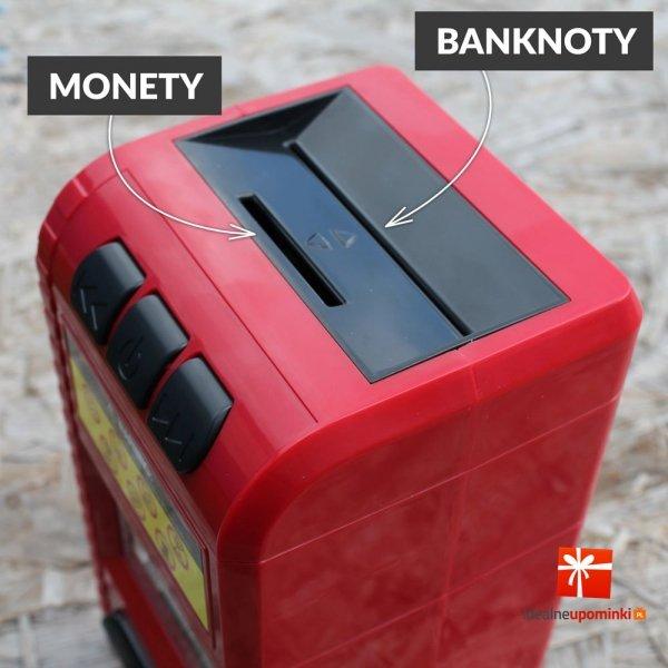 Skarbonka - Niszczarka do banknotów