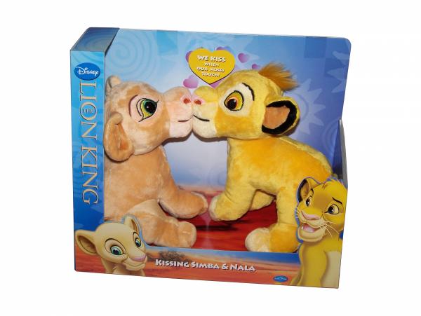 Maskotki Simba i Nala - Król Lew 20 cm