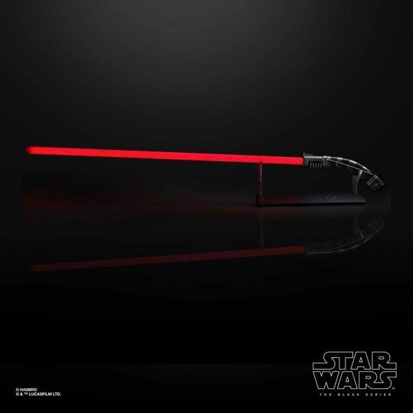 Star Wars Miecz świetlny Asajj Ventress - Black Series Replica 1:1 Force FX Lightsaber