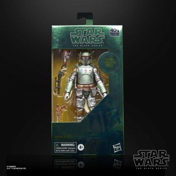 Star Wars - Episode V Black Series Carbonized Action Figure 2020 Boba Fett 15 cm