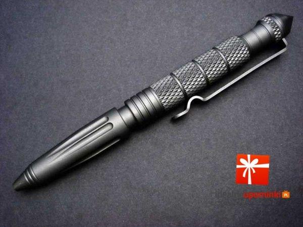 Długopis taktyczny Kubotan - obronny prezent dla twardziela