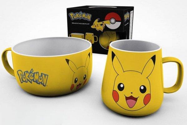 Pokemon - Zestaw śniadaniowy Pikachu