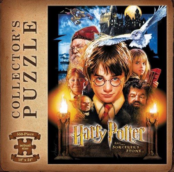 Harry Potter - Puzzle 550 el. plakat filmu Kamień filozoficzny