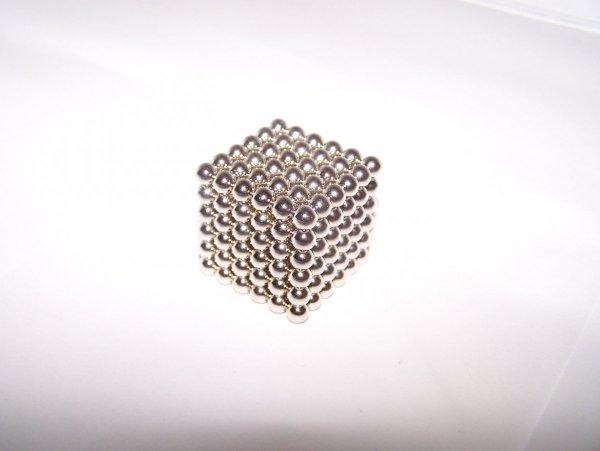 Neocube - kulki magnetyczne srebrne