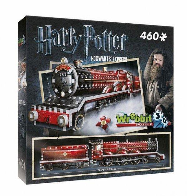 Harry Potter - Puzzle 3D pociąg Hogwart Express 460 el.