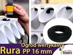 Rura PP 16 mm - 1 mb