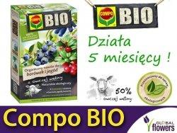 Ekologiczny Organiczny Nawóz z owczej wełny do Borówek i Jagód COMPO BIO 750g