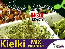 Nasiona na Kiełki - Mieszanka pikantna nasiona 30g