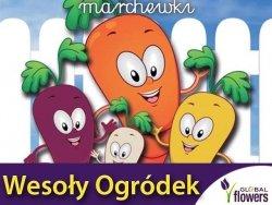 Marchew Rainbow F1 - Tęczowe marchewki Wesoły ogródek nasiona 0,25g