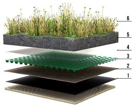 trawa na dachu jak zrobić zielony dach