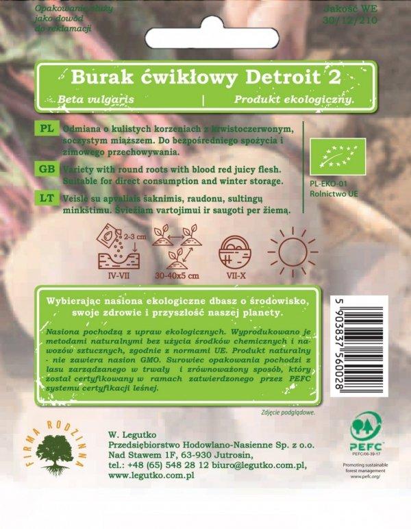 Ekologiczna uprawa buraka ćwikłowego