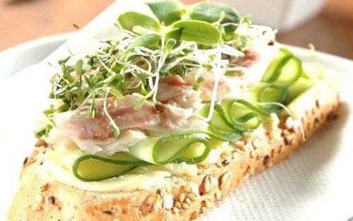 Kiełki brokuła do kanapek