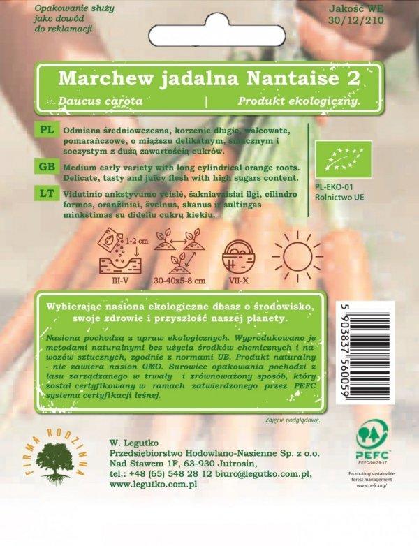 Bio nasiona marchew