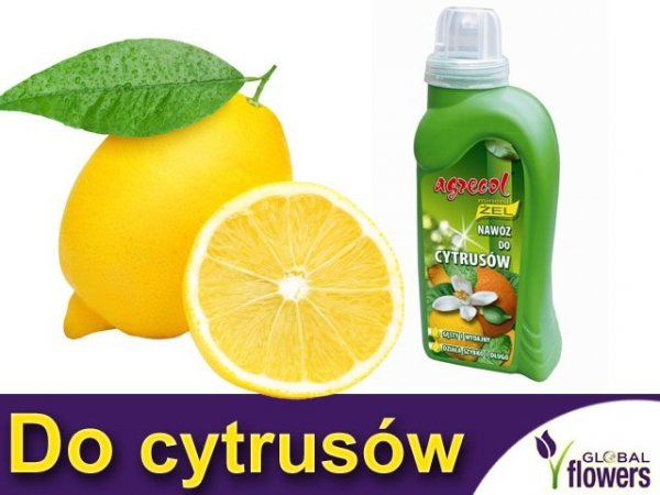Agrecol Nawóz Mineral Żel do cytrusów 0,25l