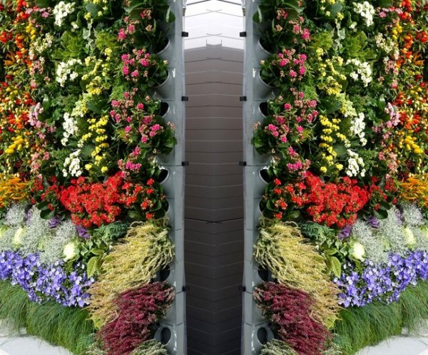 System ogrodów wertykalnych Pixel Garden moduł Czarny PG09
