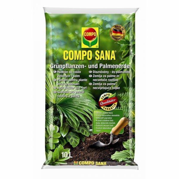 COMPO SANA Ziemia do roślin zielonych i palm 5 l
