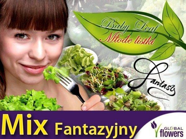 Baby Leaf Mieszanka Fantazyjna