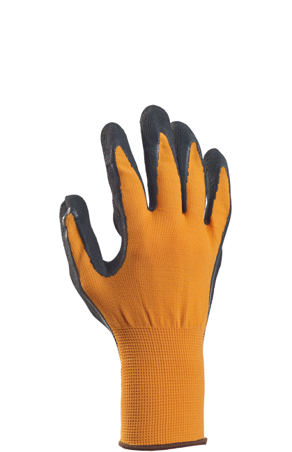 Uniwersalna Rękawice Ogrodnicze - Comfort Pomarańczowe